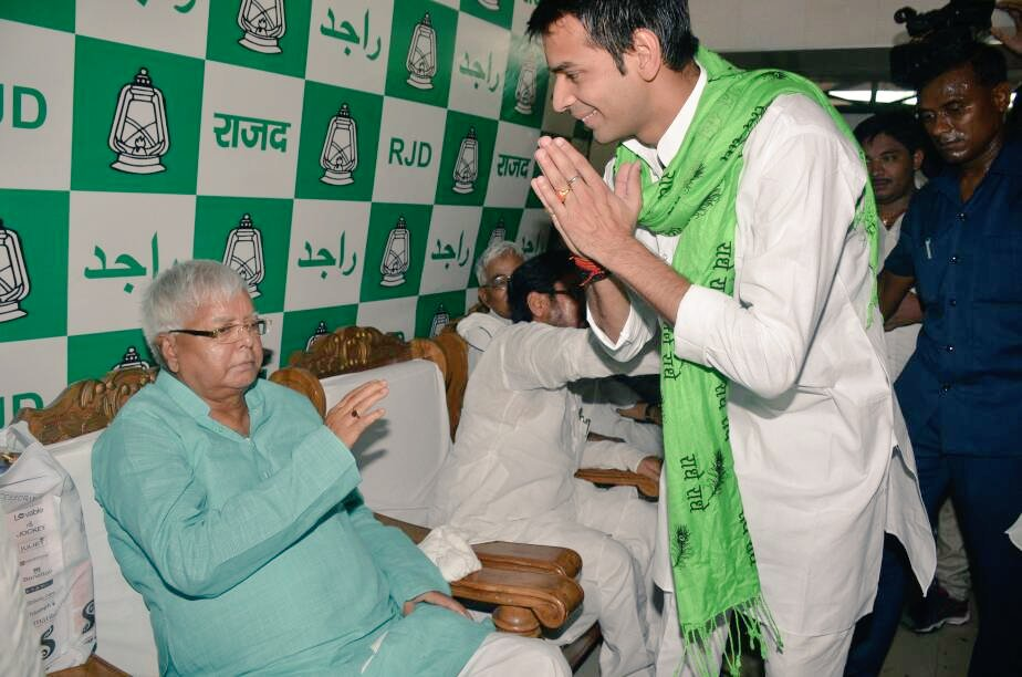 Party, family decide to ignore Tej Pratap