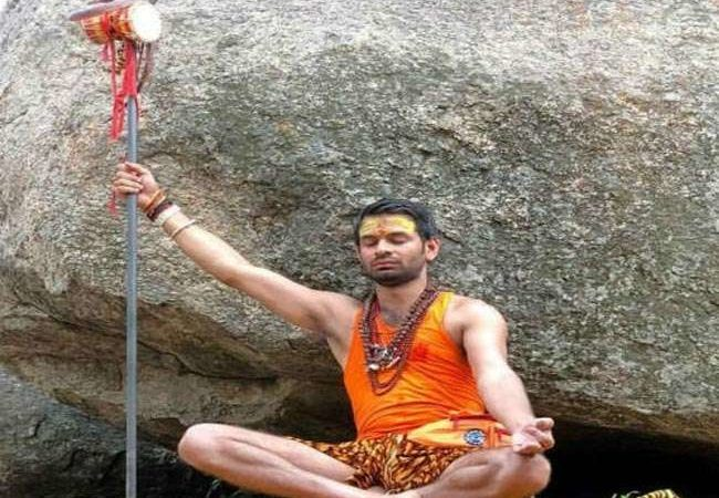 Dressed as Lord Shiva, son goes on pilgrimage to seek blessings for ailing Lalu