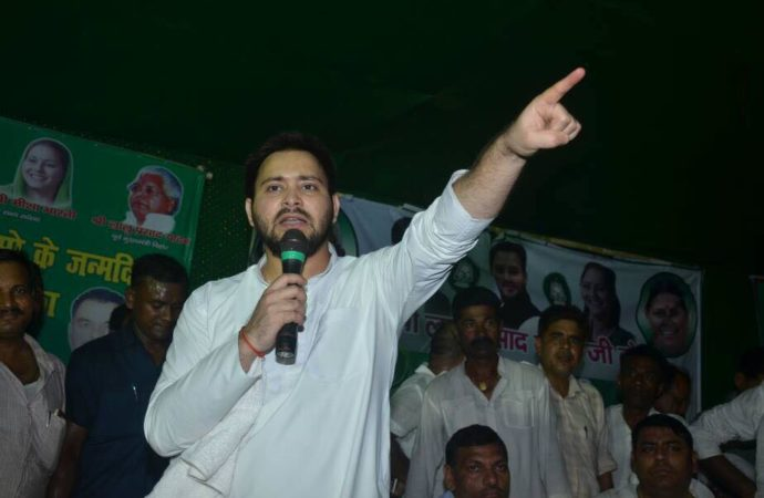 BJP feeling threatened from a 28-year-old youth: Tejashwi Yadav