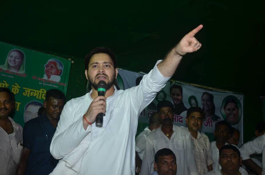 Tejashwi Yadav, Election Commission, Bihar polls, vote counting, NDA, mandate hijack, postal ballots, Bihar election result, Bihar news