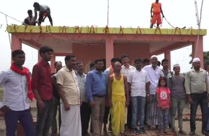 Muslims donate land, money to build 'temple' of communal harmony in Bihar