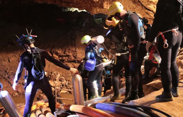 Magical Thailand cave evacuation ends with the rescue of all 13 trapped