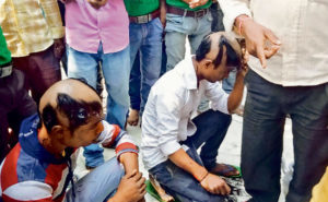 Price of love: Youths blacked faces, tonsured and paraded in Bihar