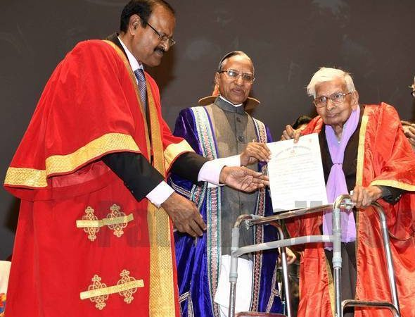 Age no bar: 98-year-old 'student' gets Post Graduate degree in Economics