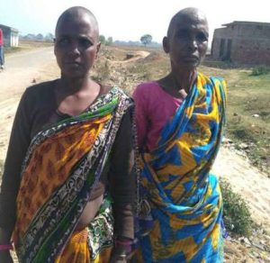 Women tonsured, made to eat human excreta for being 'witches'