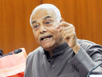 Yashwant: BJP trying to subvert democracy in Karnataka…happy that I have left