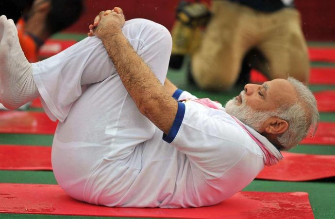 International Yoga Day: India follows PM Modi, world follows India