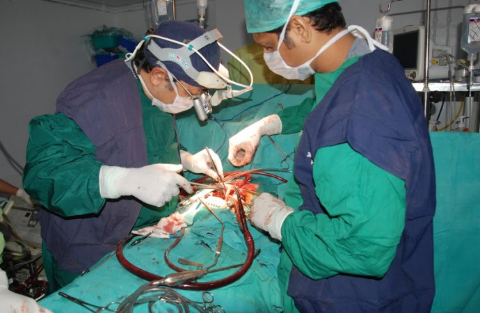 A Bihar doctor who plays music at the operation theatre to perform heart surgeries
