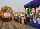Petroleum Minister flags of goodwill rail rake consignment of high-speed diesel