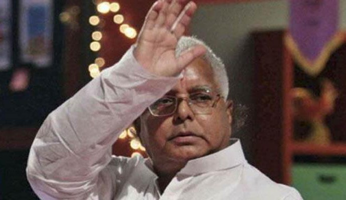 Shocked RJD workers to stay away from new year celebrations to mourn Lalu's jailing