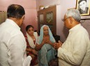 Nitish visits Gaya road rage victim Aditya family 33 days after his killing, promises justice