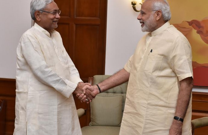 Nitish Kumar may join hands with arch-rival Narendra Modi: Media reports, JD-U refutes