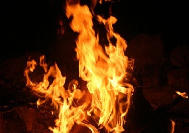 Woman burnt alive with two daughters for not bearing male child, all dead