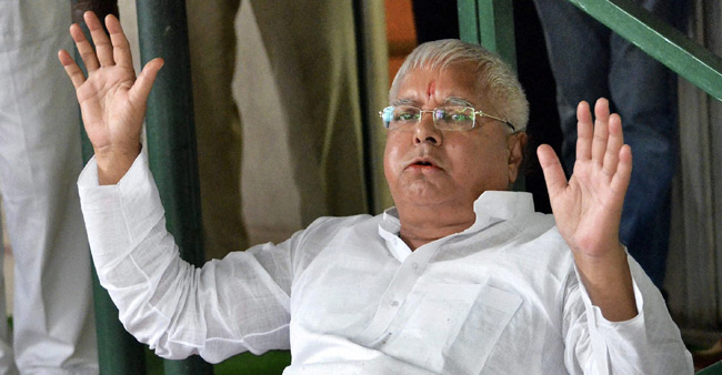 'Nitish punished for his disloyalty, Modi has given him the right medicine': Lalu Prasad