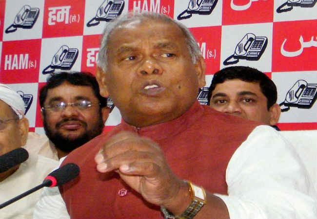 Bihar Dalit leader Manjhi spoils GA show with demand for more seats