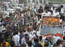 Shoe thrown at Rahul during road show in UP, accused arrested