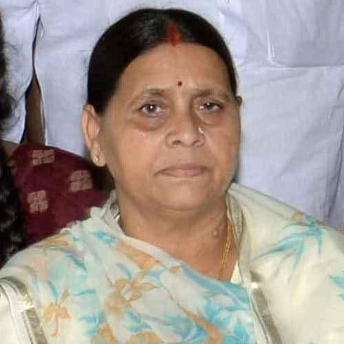 Former Bihar chief minister Rabri Devi terms PM Modi as 'hangman'