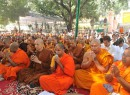 Buddhist monks from 36 countries pray for end of 'terrorism' at Bodh Gaya
