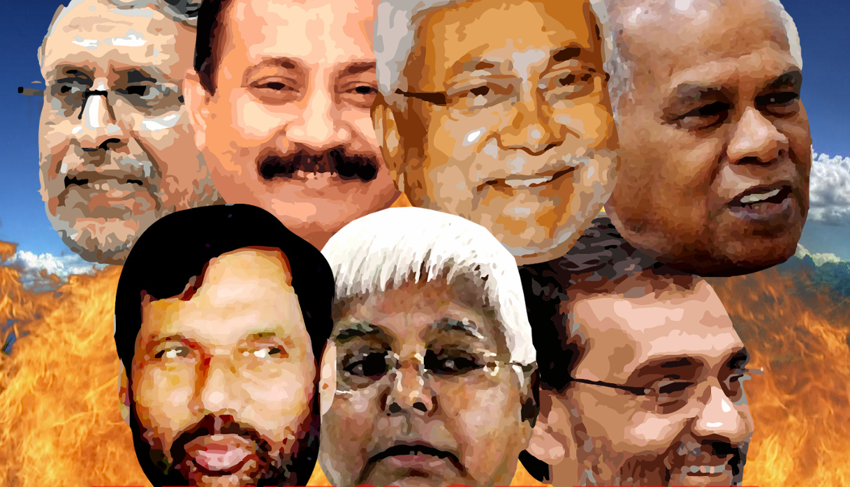 A tale of Indian politicians: Blood group same, ideology different ...