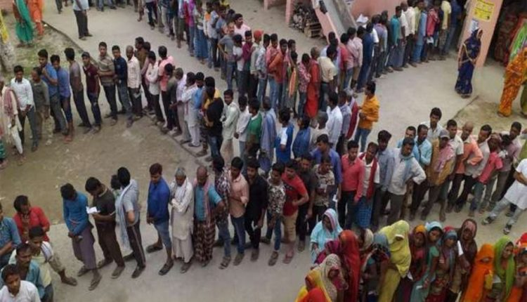 Voters join long queues as Bihar records 20 percent polling in first four hours in third phase