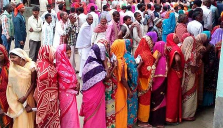 Bihar voters brave 44 degree C to turn up at polling booths in penultimate round