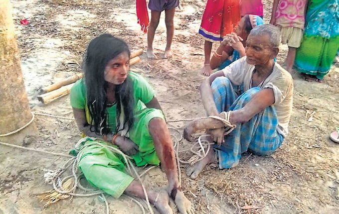 Man, daughter tied to tree, beaten up for opposing land capturing by influential villager