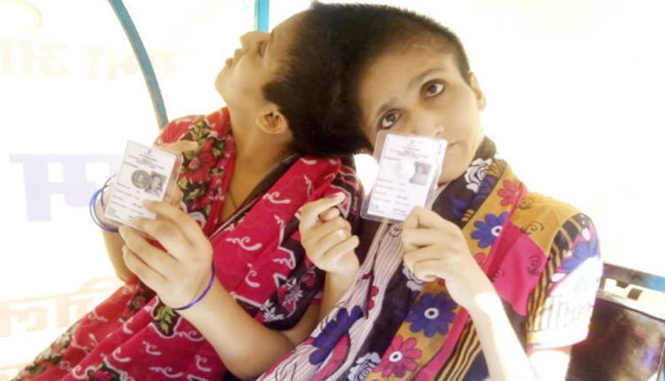 Bihar's conjoined sisters jump over physical barriers, hot weather to cast votes