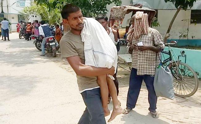 Man carries son's body home on shoulder as Bihar hospital denies ambulance