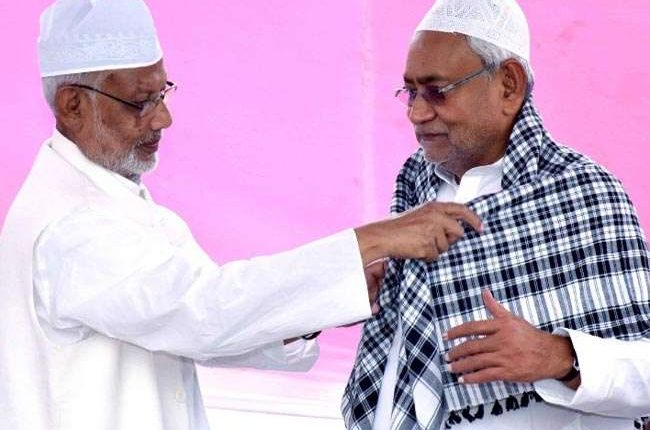 Nitish hits out at Giriraj, says those who can't respect other religions have no religion