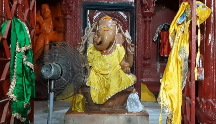 Temple arranges fans, applies sandal balm to cool down 'sweating' Ganesha in Bihar