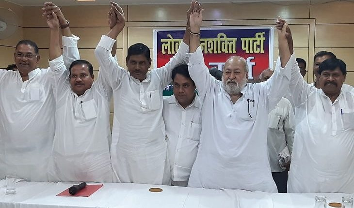 Paswan's LJP splits, 116 members quit party to form new political outfit