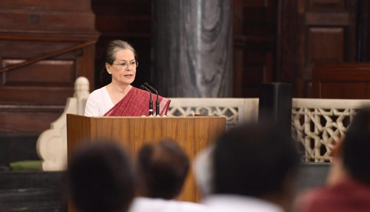 Sonia Gandhi elected Congress parliamentary party leader