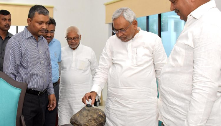 Meteorite which fell in Madhubani village to be kept in museum for public display