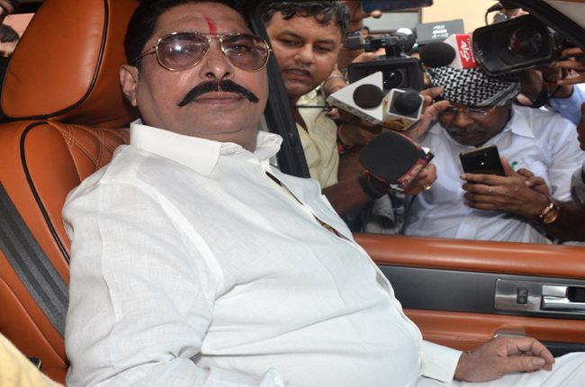 Mokama MLA Anant Singh flees home fearing arrest post recovery of AK-47