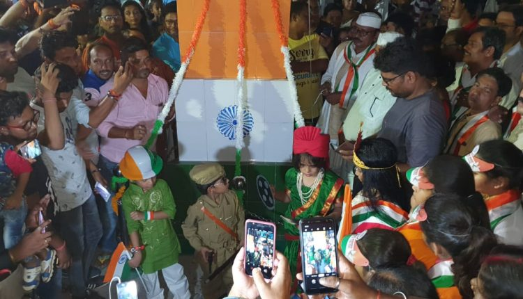 A Bihar town which celebrates I-Day by unfurling tri-colour at midnight