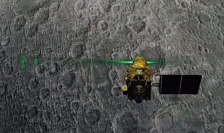 Relief for ISRO scientists as Chandrayaan lander located on moon surface