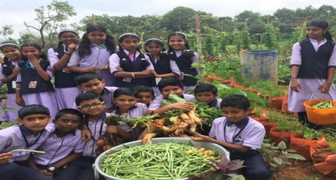 Bihar starts kitchen gardens in 20000 schools, Indian state starts kitchen gardens in 20000 schools , kitchen gardens in 20000 Bihar schools to improve children's nutrition, For improving children's nutrition 20000 Bihar schools start kitchen gardens, Bihar schoolchildren to get fresh vegetables in midday meal, vegetables grown in schools' gardens to be served to Bihar school children in midday meal, midday meal to get nutritious for Bihar school children, fresh vegetables and fruits to be served to bihar school children, schooling and farming together for Bihar schoolchildren, bihar schoolchildren will learn farming while schooling