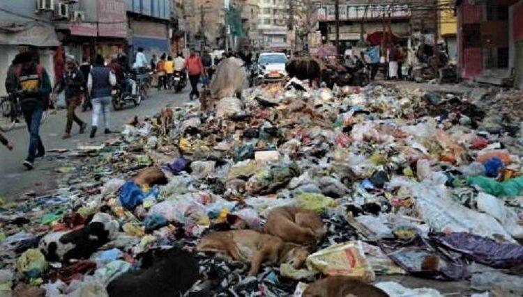 Patna garbage, Patna municipal staffs strike, Patna santination workers strike, corona virus,