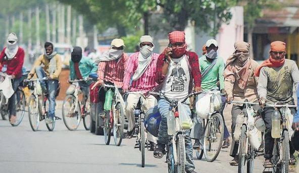 monetary help, labourers, Bihar workers, migrant workers, labour resources department, air tickets to workers, lockdown, Corona, Covid-19, Bihar, Bihar News