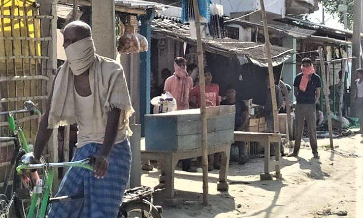 towel, towel culture, Bihar villages, Corona, Covid-19, Bihar, Bihar News
