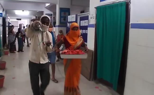 delivery, buxur hospital, Ara hospital, newborn, Corona, corona samples, bihar floods, Bihar, Bihar News