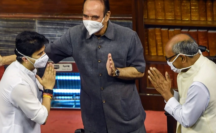 Jyotiraditya Scindia, Rajya Sabha, oath-taking, Digvijay Singh, Ghulam Nabi Azad, Bihar Post, BJP