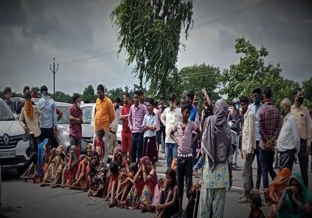 floods, Bihar floods, flood victim protests, Muzaffarpur, Bihar, Bihar News