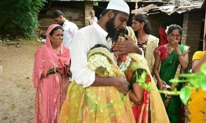 wedding, Muslim man, hindu girls, Maharashtra, Rakhi, Bihar Post, rare wedding, India real picture