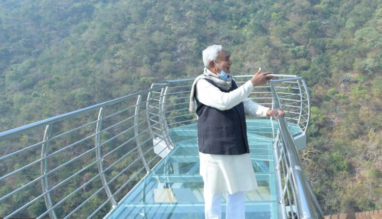 glass bridge, Nature Safari, Rajgir Nalanda, Bihar, Nitish Kumar, China, Hangzhou, Bihar news