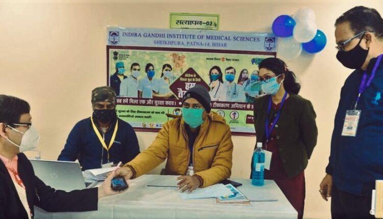 COVID-19, vaccination drive, Bihar, Patna, IGIMS, Mangal Pandey, Covid vaccination drive, Bihar, Bihar news