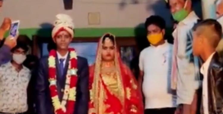 wedding, weddig procession, bizarre wedding, Sheohar, Bihar
