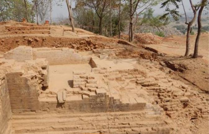 Sun idol, Saharsa, Pala period, Islamic invasion, Bihar,