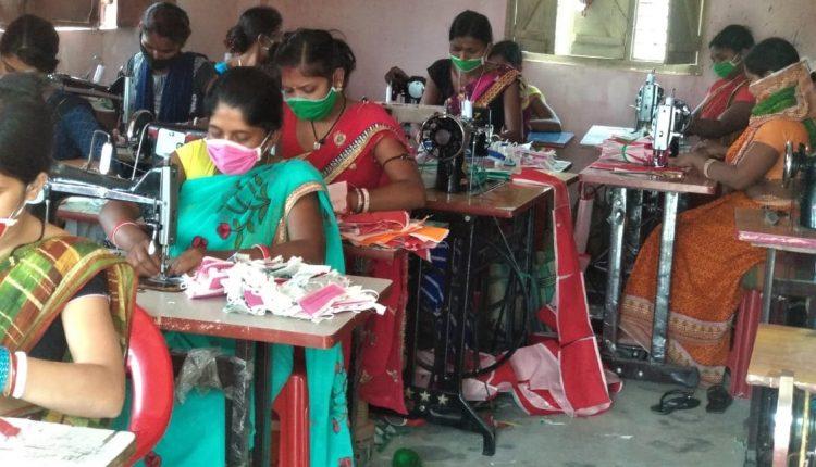 Jeevika, facemasks, Livelihood, covid-19, Jobloss, lockdown, CovidJobCrisis, Bihar News