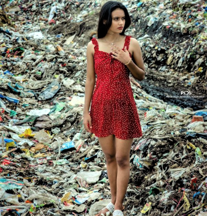 catwalk, garbage ramp, garbage dump, Ranchi, Jharkhand, health,